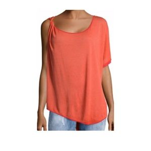 "Free People ""Pluto One-shoulder Top"""